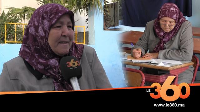 Cover_Vidéo: Le360.ma • بطنجة أكبر مترشحة تجتاز امتحانات الباكالوريا في المغرب وهذا حلمها