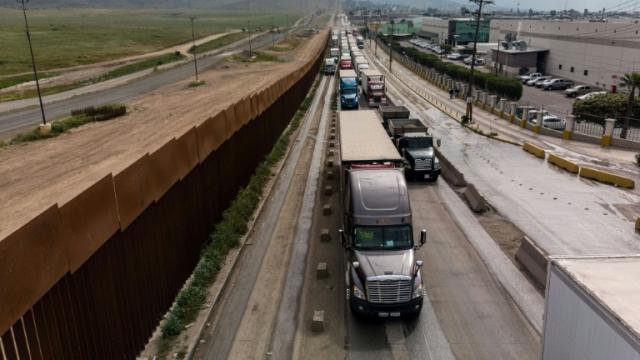 Frontière-Mexique-USA