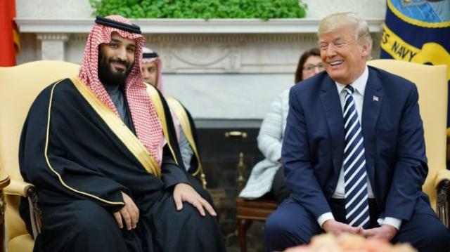Donald Trump et Mohammed ben Salmane
