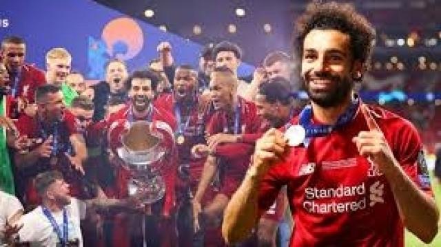 Mohamed Salah champion d'Europe