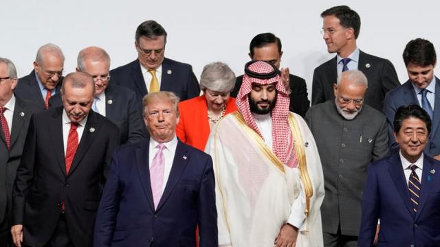 Trump-MBS-G20