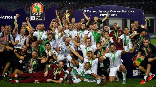 Algérie championne d'Afrique 2019
