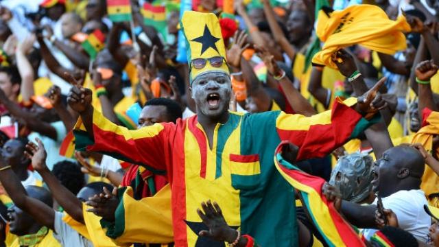 supporters Sénégal