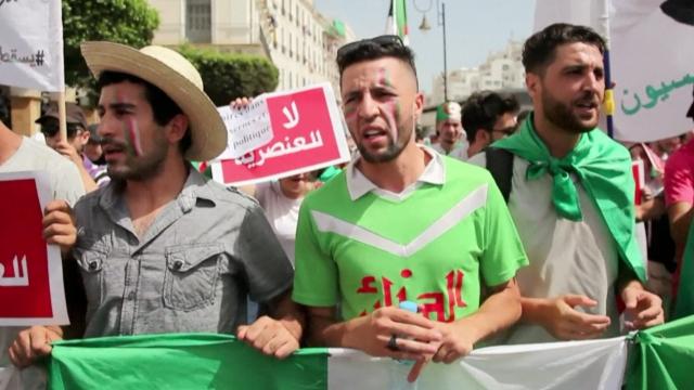 cover sujet AFP Fennecs fierté Algérie