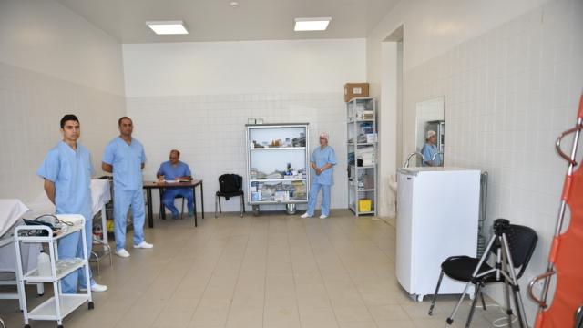 Médecins militaires grande piscine de Rabat