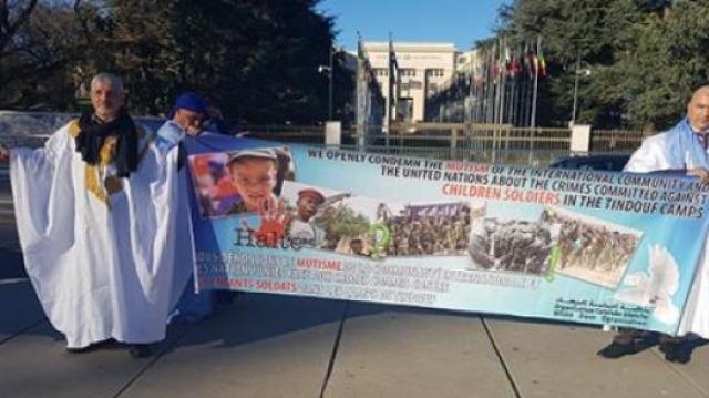 Sit-in à Genève anti-polisario