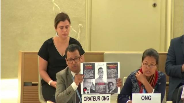 ONG dénonçant les disparitions à Tindouf