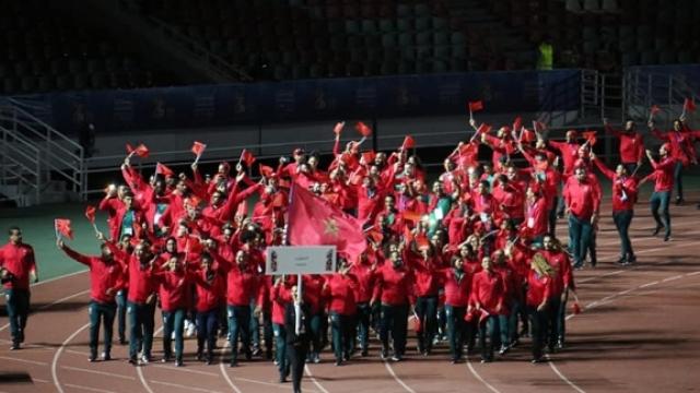 Délégation Maroc jeux africains