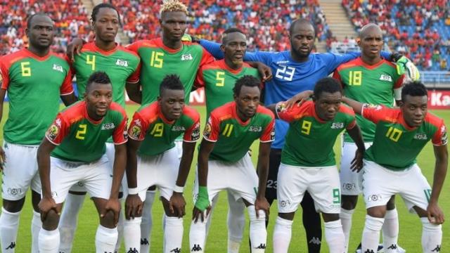 Burkina Faso équipe de football