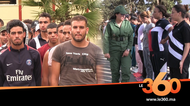 Cover_Vidéo: Le360.ma •تعرفوا على بداية تكوين 3400 مجند بالمركز الاول لتدريب بالحاجب