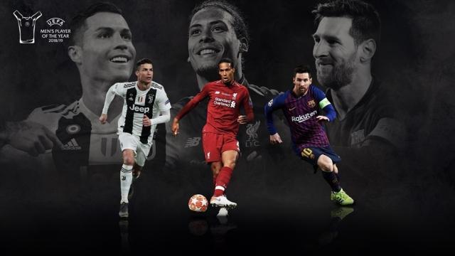 Messi-Ronaldo-Van Dijk