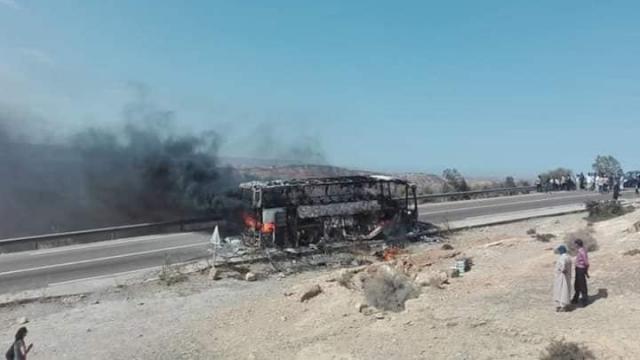 Essaouira autocar feu2