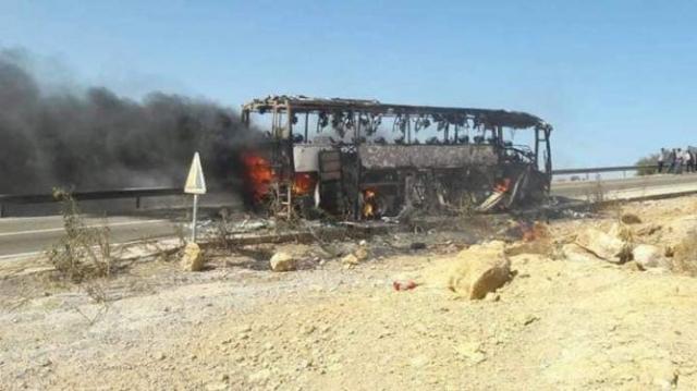 Essaouira autocar feu3