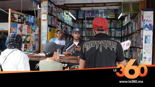 cover vidéo:Le360.ma •جولة داخل سوق الكتب المدرسية المستعملة بالدار البيضاء