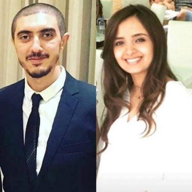Omar Saher et sa future femme, Nora
