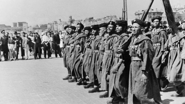 Soldat au débarquement du 15 août 44