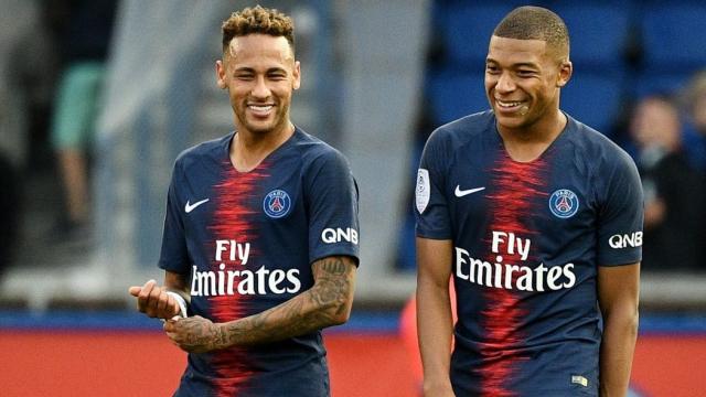 Neymar Mbappé