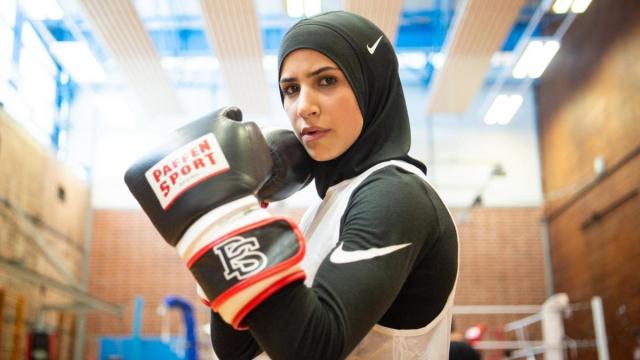 Zeina Nassar boxe