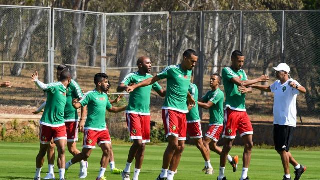 chan 2020 locaux Maroc entraînement