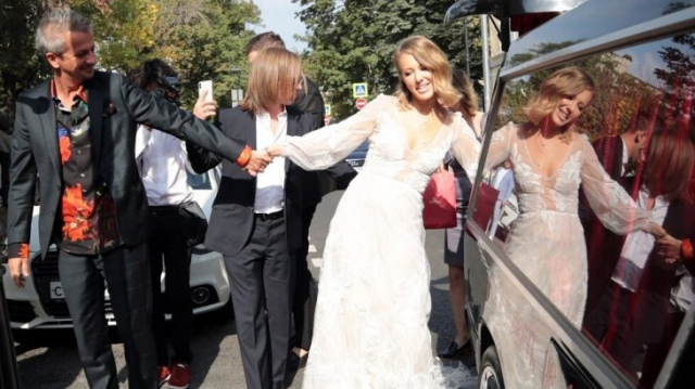 Ksenia Sobtchak-mariage