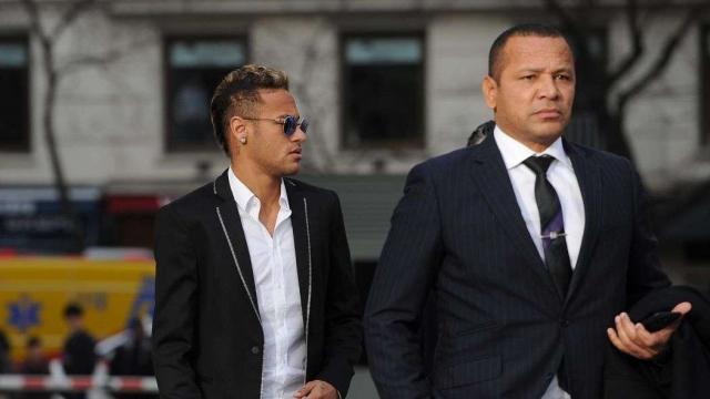Neymar père et fils