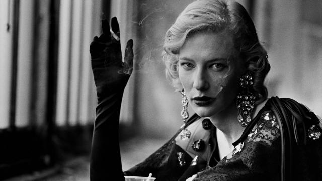Cate Blanchett vue par Peter Lindbergh.