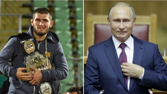 Poutine et Nurmagomedov