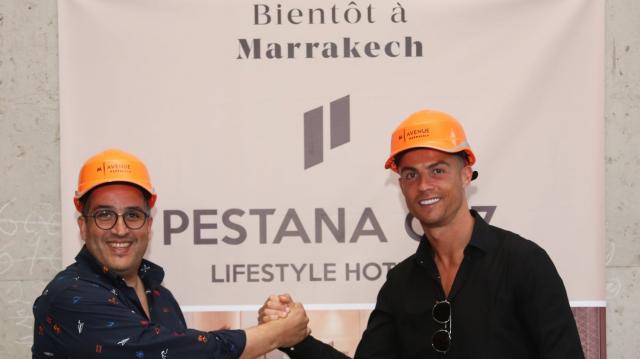 Ronaldo à son Pestana de Marrakech