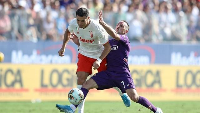 Duel Ribéry-Ronaldo