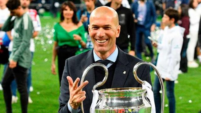 Zidane et le 3e trophée de la LDC