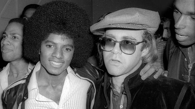 Elton John et Michael Jackson