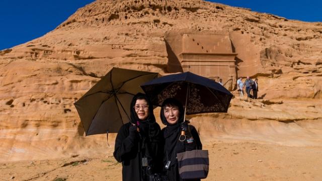 touriste arabie saoudite