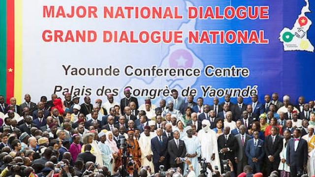 Cameroun dialogue
