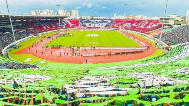 Public du stade Mohammed V