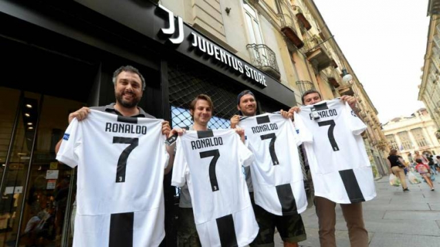 Business Juventus Ronaldo
