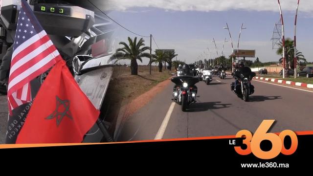 Cover. Vidéo. Marche Verte: le Club Royal Motos s'envole direction l'Amérique