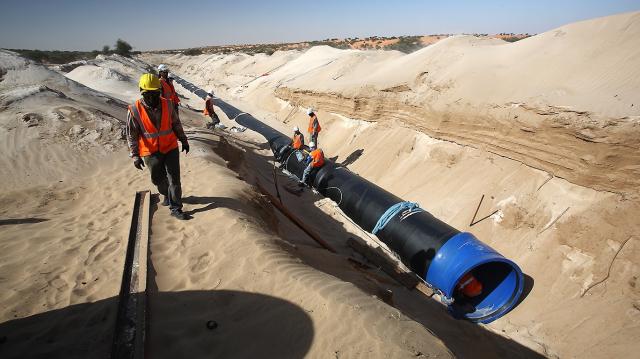 réseau de distribution d'eau à Nouakchott