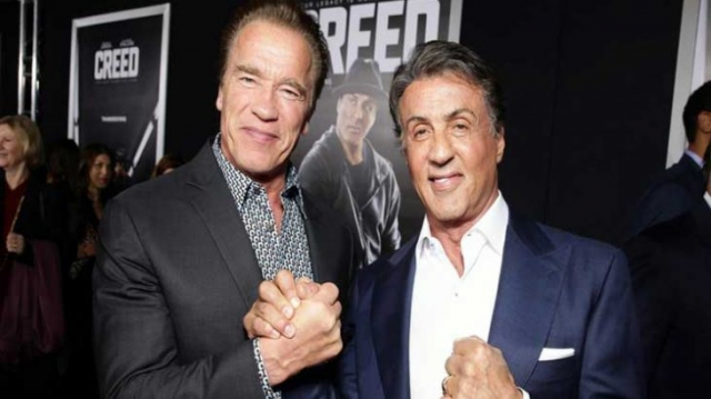 Arnold Schwarzenegger-Sylvester Stallone