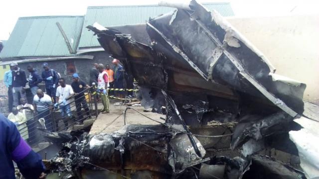 crash d'un avion à Goma