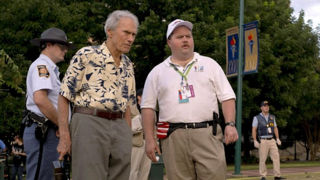 Clint Eastwood et Paul Walter Hauser