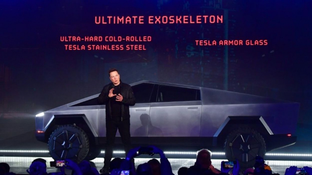 Elon Musk Tesla pick-up