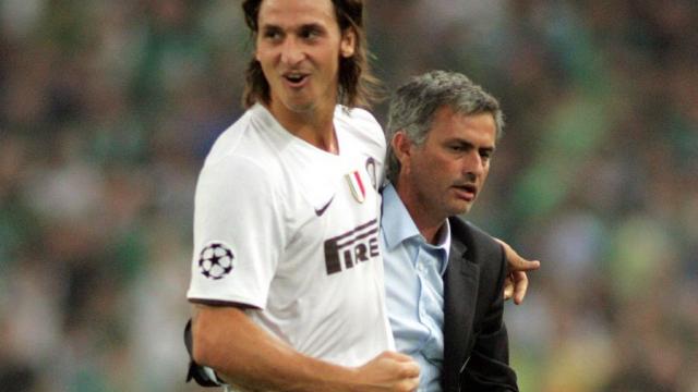 ibrahomovic et Mourinho