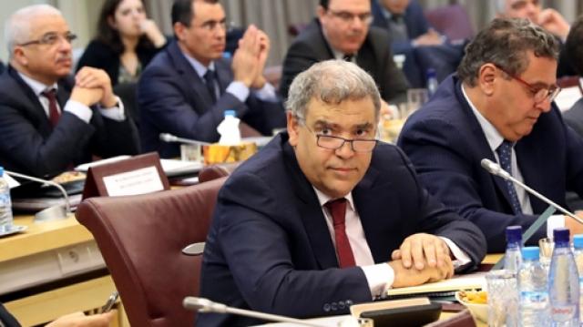 Abdelouafi Laftit et Aziz Akhannouch