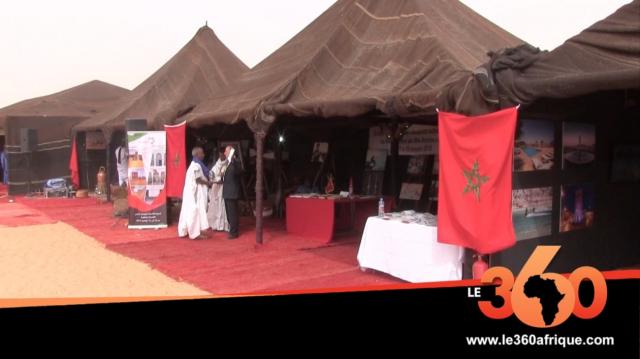 Vidéo. Mauritanie-Maroc. Festival des villes anciennes: le président Ghazouani visite le stand du royaume