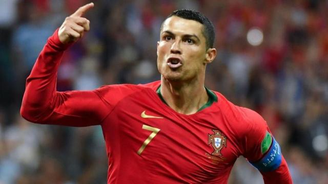 Ronaldo voit triple