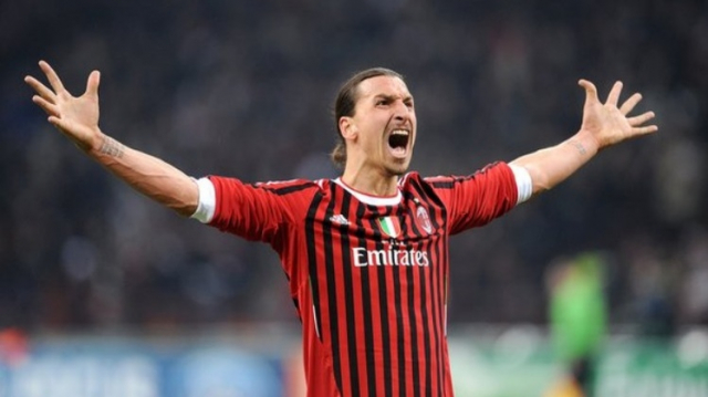 Zlatan du Temps de l'AC Milan