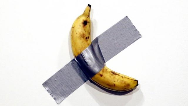 la banane de Cattelan