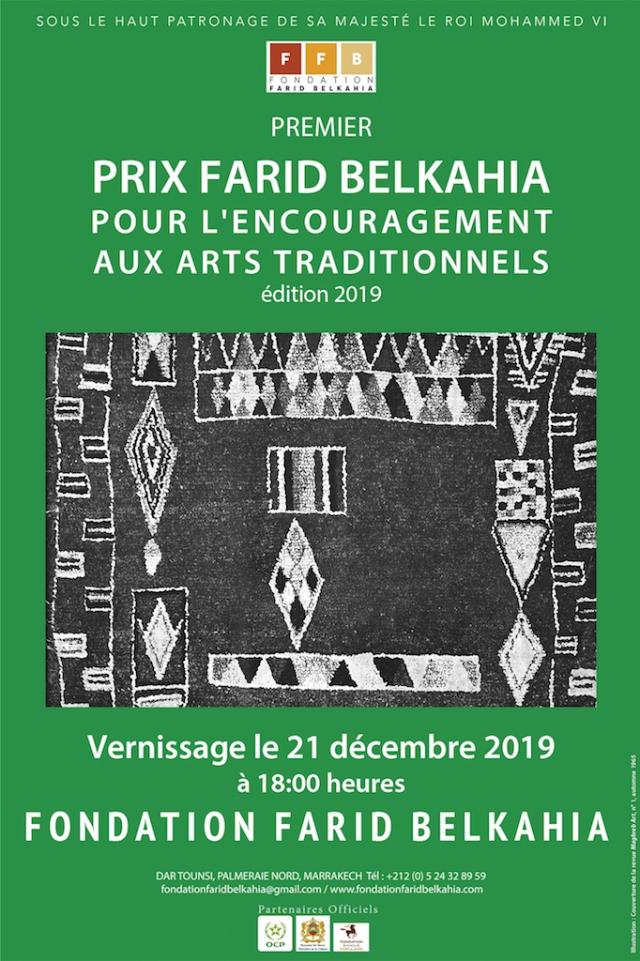 affiche prix farid Belkahia