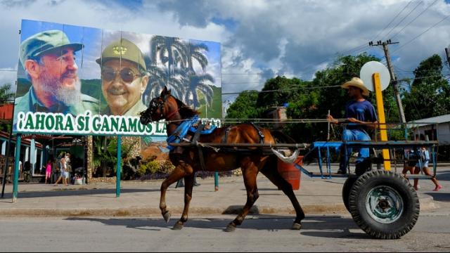 Cuba privée d'essence1