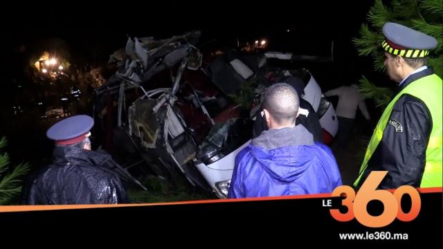 cover:  ضحايا انقلاب حافلة تازة يروون تفاصيل الحادثة